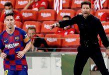 Simeone reconoce que intentó fichar a Messi tras su salida de Barcelona