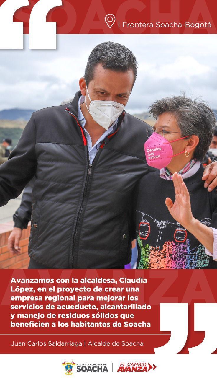 Soacha y Bogotá buscan reforzar seguridad en la frontera